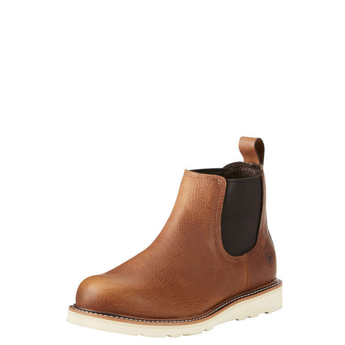 9bc98061dcf ... Western Casual Pull On Wedge Sole Tan Chelsea Boots. Ariat 10021707  Recon Mid 5