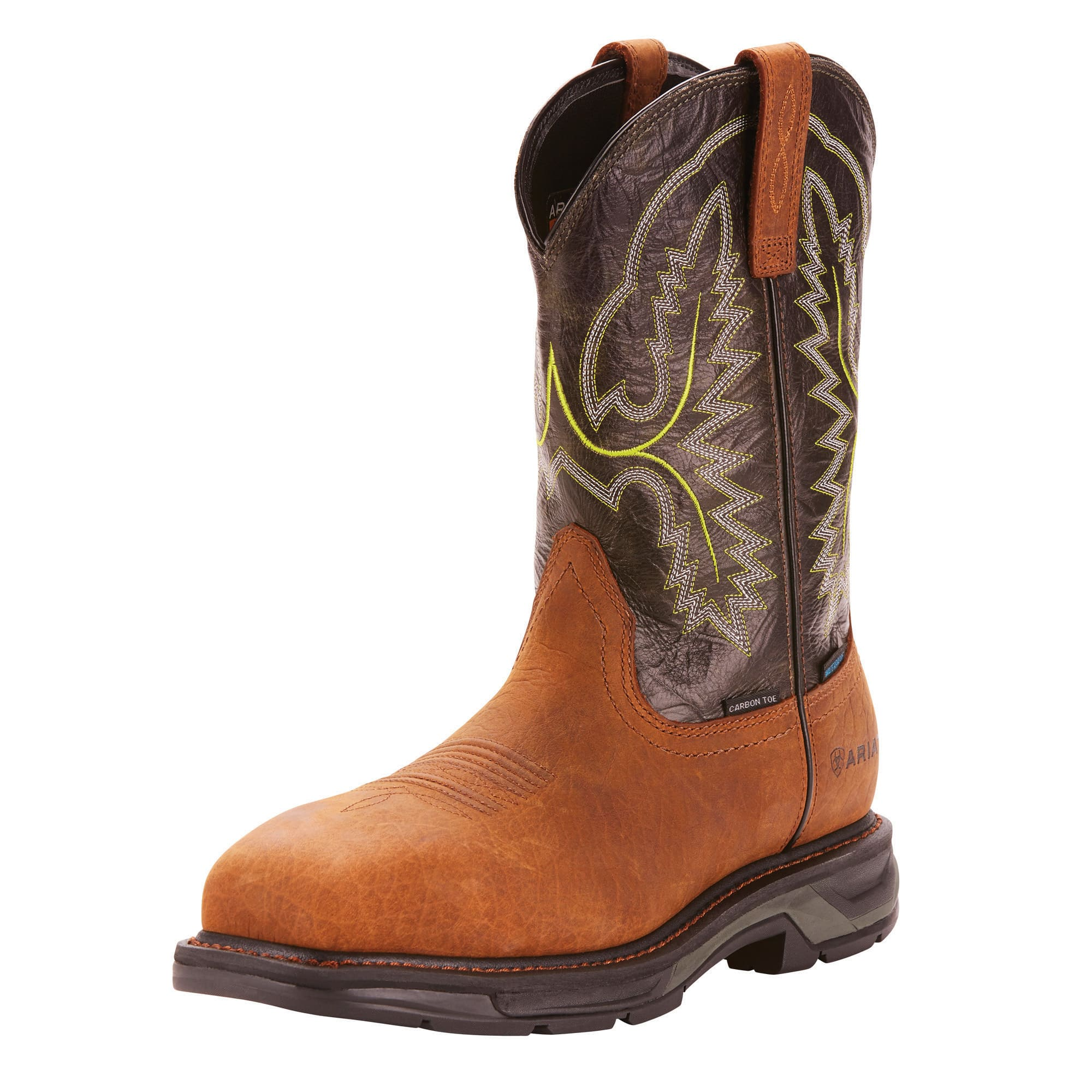 9bf019f91aa Details about Ariat 10024966 Men WorkHog XT Wide Square Toe H2O Safety  Carbon Toe Work Boots
