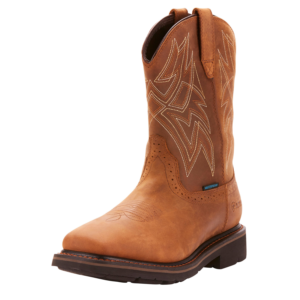 ARIAT Men/'s Steel Toe H2O Everett Work Boot Distressed Brown 10022792 NIB Sizes