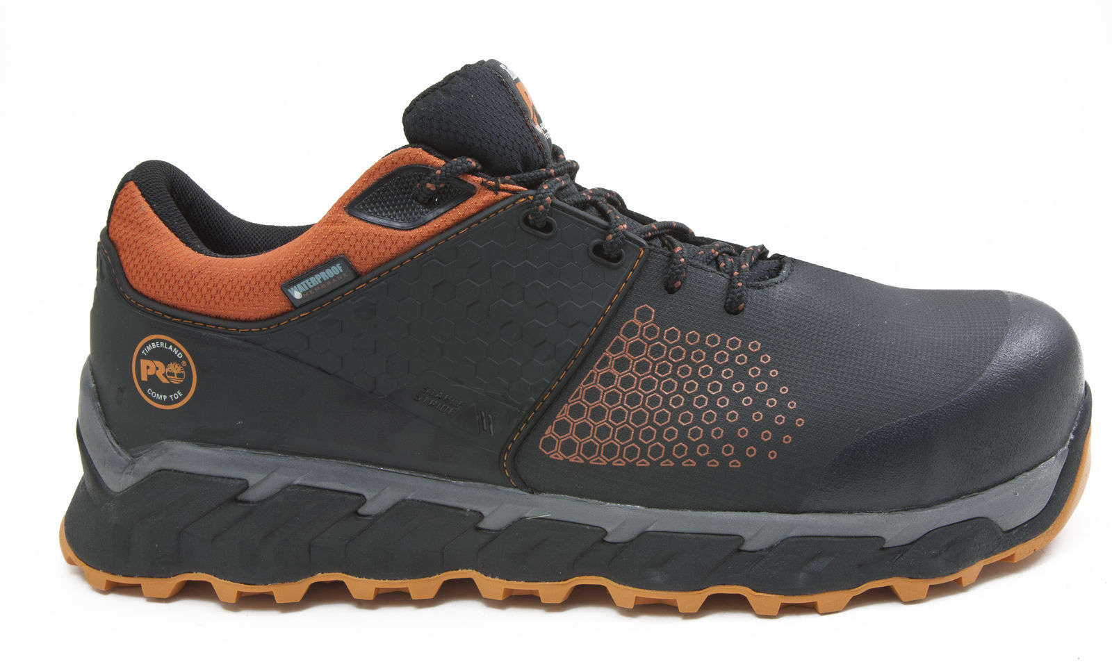 b6b82d5bbfd Details about Timberland PRO A1Q2P001 Ridgework Low Composite Safety Toe  Waterproof Work Shoe