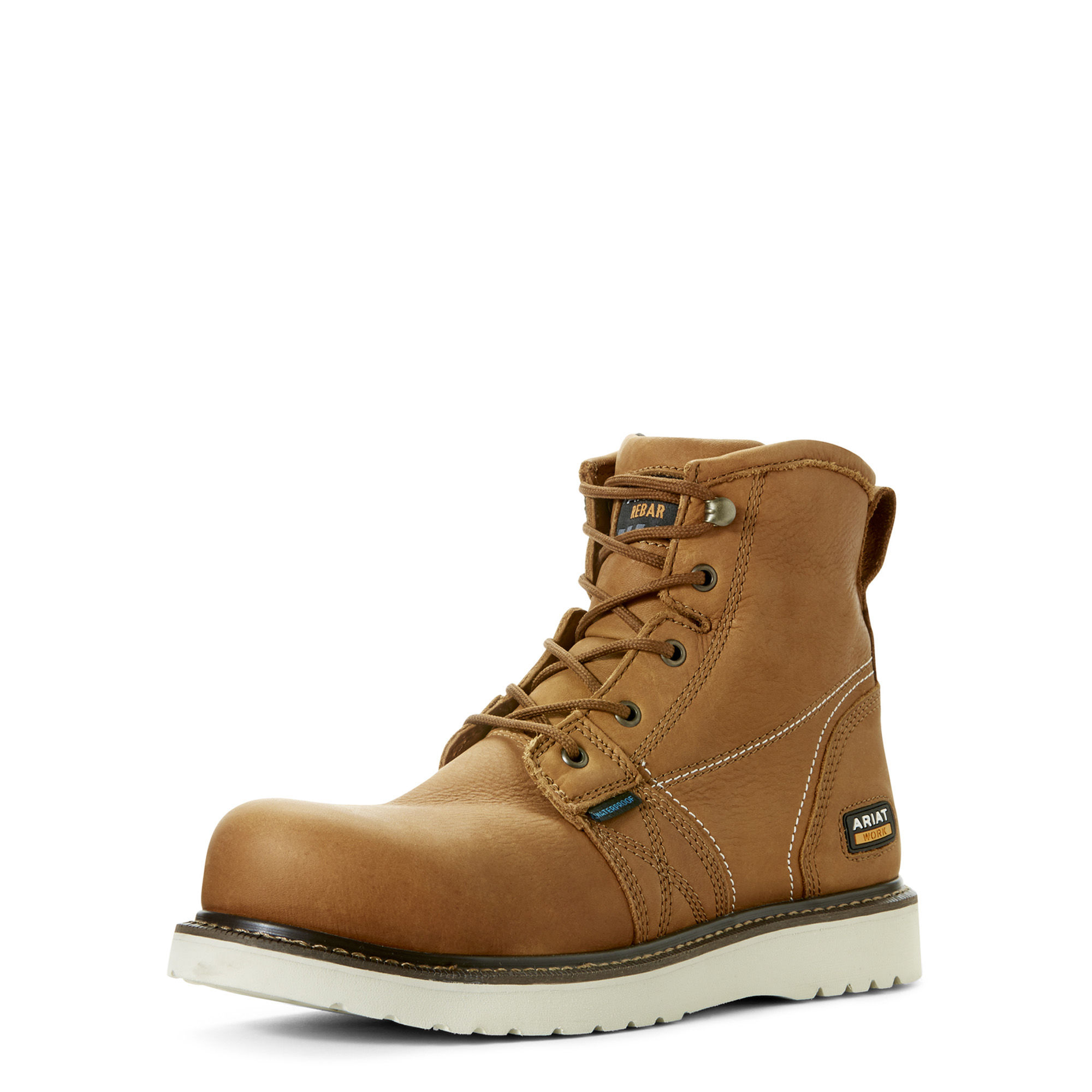 7d9a874ae06 Details about Ariat 10023068 Men Rebar Wedge 6